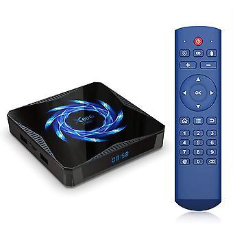 X96Q ماكس الروبوت 10.0 TV Box Allwinner H616 تدفق وسائل الإعلام لاعب الذكية مربع التلفزيون 2.4G 5G ثنائي واي فاي 4K وسائل الإعلام لاعب BT5.0 يوتيوب تعيين مربع أعلى من قبل (أسود)
