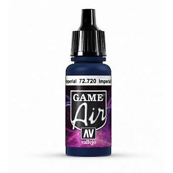 Vallejo Game Air 17ml Acrylic Airbrush Paint 72.720 Imperial Blue