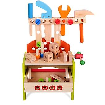 Preschool Montessori, Kids Pretend Play Wooden Toy, Simulation Multifunctional