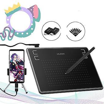 Tablets Digitais Micro USB Assinatura Gráfica Desenho Caneta