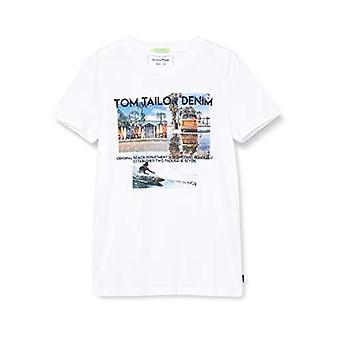 Tom Skrædder Fotoprint T-shirt, 20000/Hvid, S Man(1)