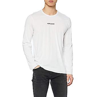 Herrlicher Jake Mercerized Jersey T-Shirt, White 10, S Men