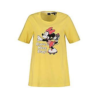 ULLA POPKEN T-Shirt, Damen, Gro and Gro en, Yellow, 56 Woman