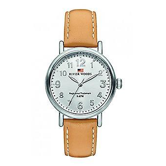 River Woods Analog Quartz Watch Woman with Leather Strap RW340007