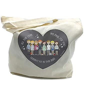 Susiko - Maxi Tasche, aus Baumwolle, Unisex, für Erwachsene, natürlich, groß(2)