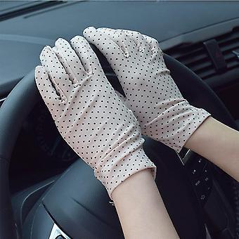 Ultra-thin Vintage Elegant Women Opera Short Gloves