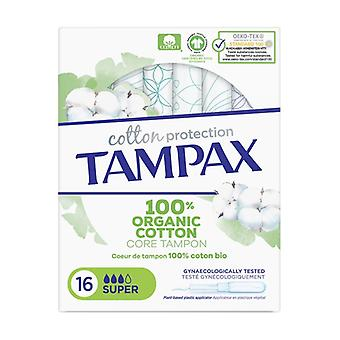 Tampax Organic Super 16 units