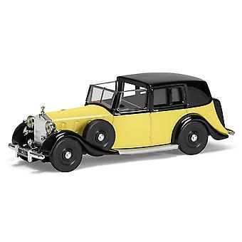 Rolls Royce Phantom III Sedanca de ville Diecast modell bil från James Bond Goldfinger