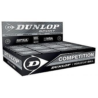 Dunlop Konkurrens Squash Bollar 1 Boll Box 12