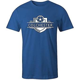 Sporting empire colchester united 1937 established badge football t-shirt