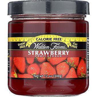 Walden Farms Fruit Sprd Cf No Carb Str, Case of 6 X 12 Oz