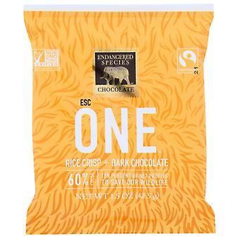 Endangered Species Crisps Chocolate Rice, Case of 12 X 1.5 Oz