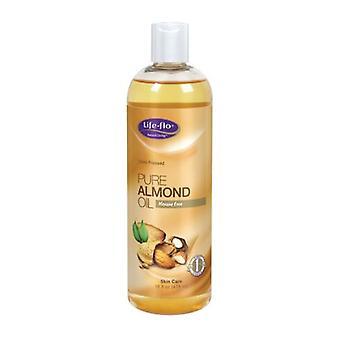 Life-Flo Pure Almond Oil, 16 oz