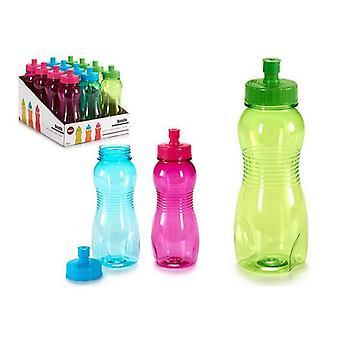 Botella de agua (7 x 20,5 x 7 cm) 550 ml