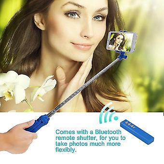 Mini stativ 3 v 1 Autoportrét Monopod Bluetooth Selfie Stick pro telefon