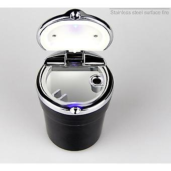 Car Ashtray With Led Lights Creative Personality Car Inside The Car Multi Function Ashtray
