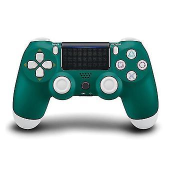 ل Sony PS4 وحدة تحكم لاسلكية بلوتوث الاهتزاز جويستيكس اللاسلكية (الأخضر)