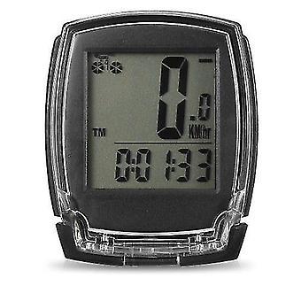 Bicycle bike computers wireless  computer speedometer digital odometer stopwatch thermometer el backlight