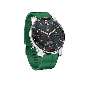Smart Watch IP67 waterdichte 1,3-inch high-definition kleurenscherm, meerdere sportmodi, meerdere functies voor gezondheidsmonitoring Muziek afstandsbediening camera (groen)