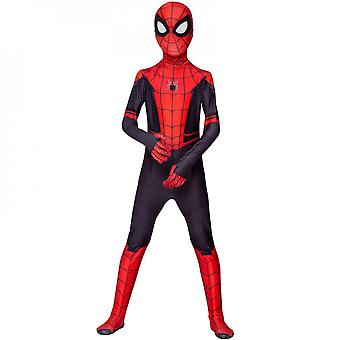 Spider-man Spiderman Cosplay Costume Adult Kids Party Outfit Fancy Dress
