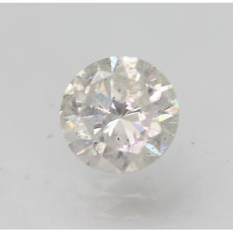 Sertifioitu 0,68 karat G SI2 pyöreä brilliant parannettu luonnollinen löysä timantti 5,56mm