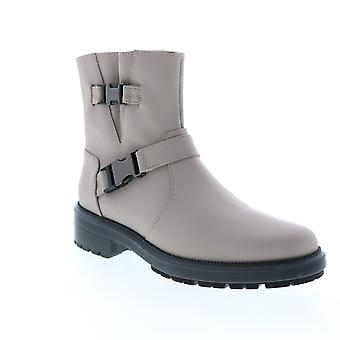 Aquatalia Adult Womens Lillie Matte Leather Casual Dress Boots