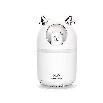 High quality usb mini humidifier silent air sprayer office dormitory bear white white #4501