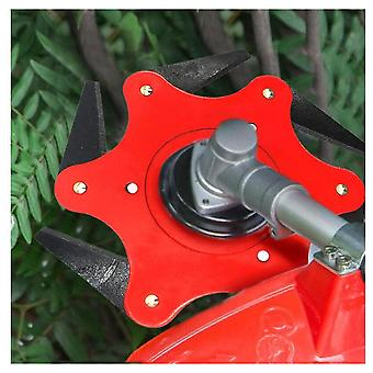 2pcs 6 Teeth Weed Cutter Metal Blade Cutter and Strimmer