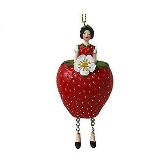 Blomma figurin Fairy Rose Girl