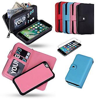 Iphone 7 Plus/8 Plus-Leder-Etui/Abdeckung