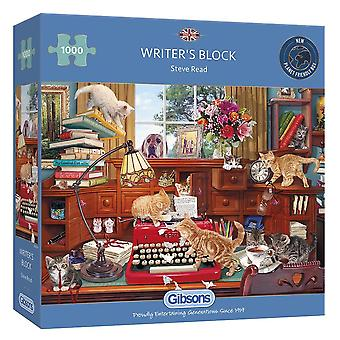 Writer's Block 1000pc Jigsaw by Gibsons
