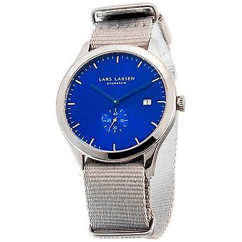 LLarsen (Lars Larsen Grey Nylon) 129SDMN Men's Watch