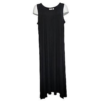 LOGO by Lori Goldstein Women's Dress Reg Rayon 230 Black A350606