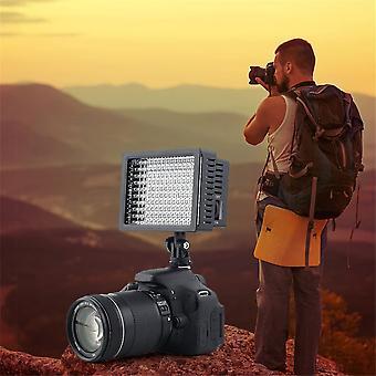160 LED Studio Video Light a Canon Kamera Dv videokamera fotózás