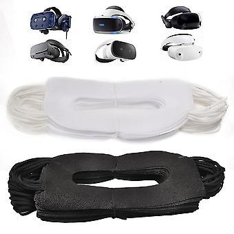 Vr maske 100pcs vr oppleve ansiktsmaske sanitær klut kompatibel vr goggle