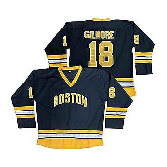 Happy Gilmore #18 Boston Adam Sandler 1996 Movie Ice Hockey Jersey Mens S-xxxl Stitched
