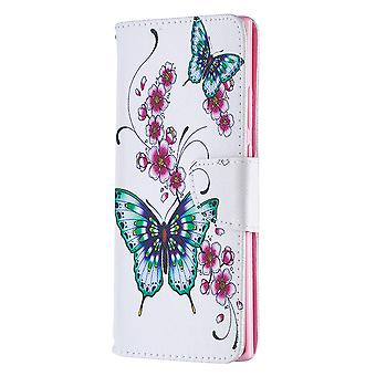 Samsung Galaxy Note 20 Ultra Case Pattern Papillon Floral