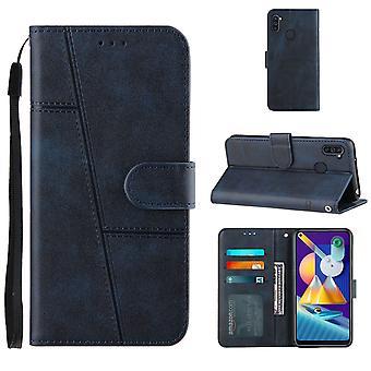 Boîtier pour Samsung Galaxy A11 Bleu