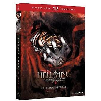 Hellsing Ultimate: Vol. 1-4-Box Set [BLU-RAY] USA import
