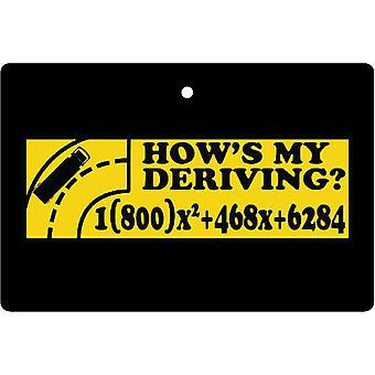 How's My Deriving Car Air Freshener