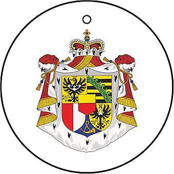 Liechtensteiner Wappen Auto-Lufterfrischer