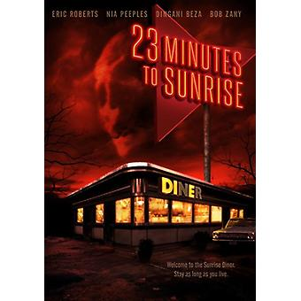 23 Minutes to Sunrise [DVD] USA import