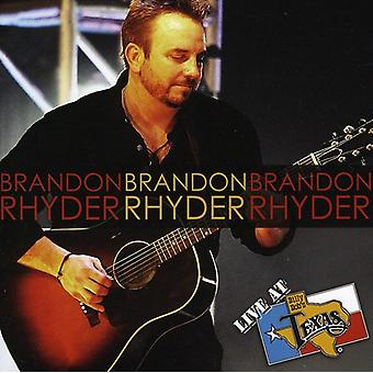 Brandon Rhyder - Live at Billy Bob's Texas [CD] USA import