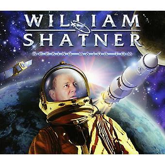 William Shatner - op zoek naar Major Tom [CD] USA import