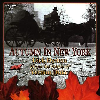 Dick Hyman - Autumn in New York-Dick Hyman Plays the Music of V [CD] USA import