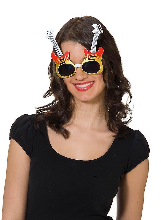 Gitar briller gitar musikk jukebox rocker briller