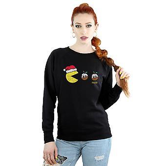 Pacman Women's Christmas Puddings Sweatshirt