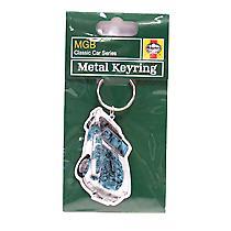 Official Haynes MG MGB Car Metal Keyring