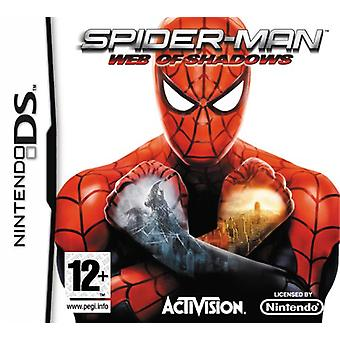 Spider-man Web of Shadows (Nintendo DS)-fabriken förseglad