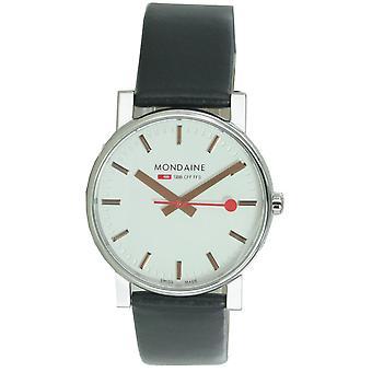 Mondaine ladies watch SBB Evo wristwatch A658. 30300. 18SBB leather